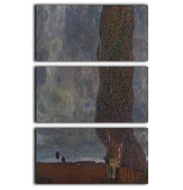 Approaching Thunderstorm by Klimt 3 Split Panel Canvas Print