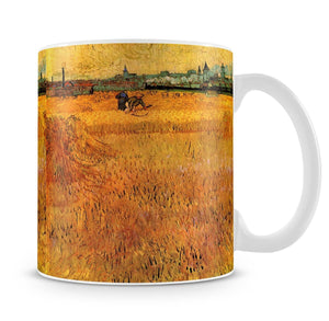 Arles View from the Wheat Fields by Van Gogh Mug - Canvas Art Rocks - 4