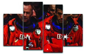 Armageddon 4 Split Panel Canvas  - Canvas Art Rocks - 1
