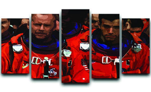 Armageddon 5 Split Panel Canvas  - Canvas Art Rocks - 1