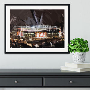 Arsenal Emirates Stadium Framed Print - Canvas Art Rocks - 1