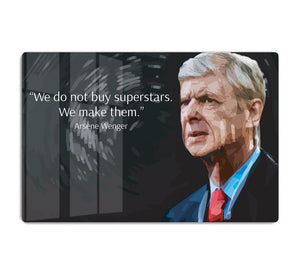 Arsene Wenger Superstars HD Metal Print