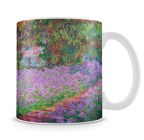 Artists Garden by Monet Mug - Canvas Art Rocks - 4