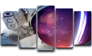 Astronaut 5 Split Panel Canvas  - Canvas Art Rocks - 1
