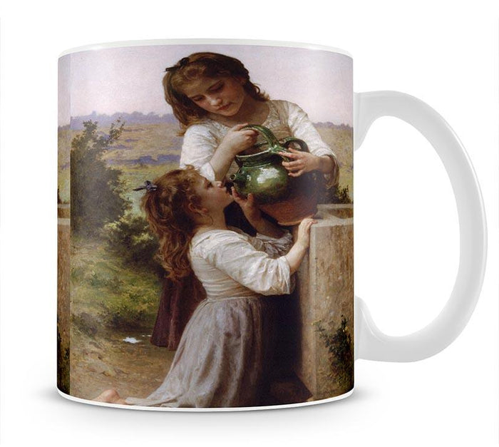At The Fountain By Bouguereau Mug