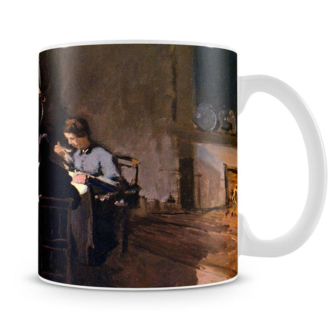 At the Table by Monet Mug - Canvas Art Rocks - 4