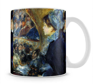 At the theatre by Renoir Mug - Canvas Art Rocks - 1