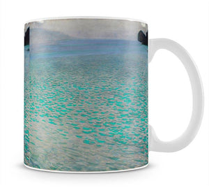 Attersee by Klimt Mug - Canvas Art Rocks - 1