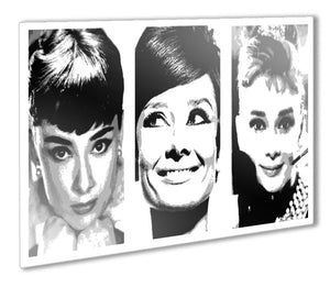 Audrey Hepburn Metal Print - Canvas Art Rocks - 1