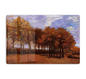 Autumn Landscape by Van Gogh HD Metal Print