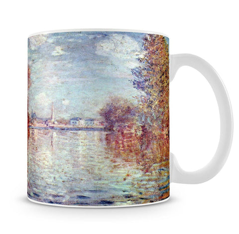 Autumn in Argenteuil by Monet Mug - Canvas Art Rocks - 4