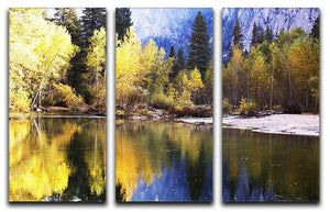 Autumn scene 3 Split Panel Canvas Print - Canvas Art Rocks - 1
