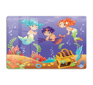 Baby Sirens and Baby Triton HD Metal Print