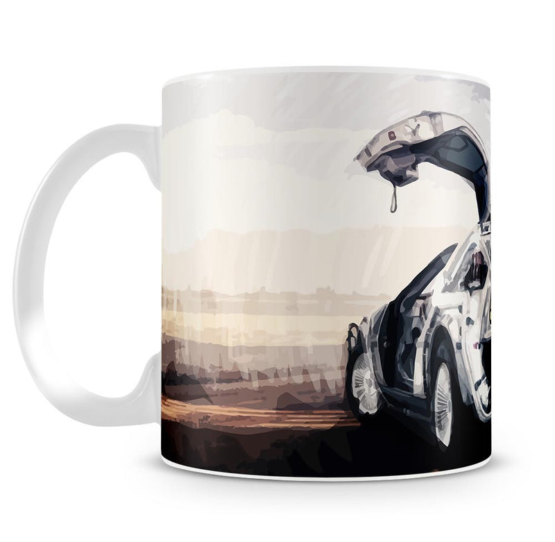 Back To The Future DeLorean Mug - Canvas Art Rocks