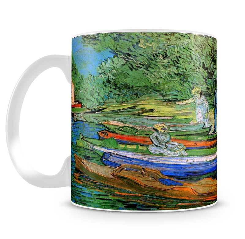 Bank of the Oise at Auvers by Van Gogh Mug - Canvas Art Rocks - 4
