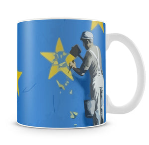 Banksy Brexit Star Dover Mug - Canvas Art Rocks