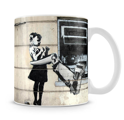 Banksy Cash Machine Girl Mug