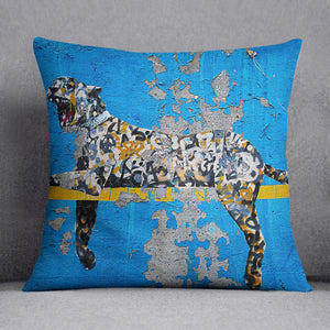 Banksy Cheetah Cushion