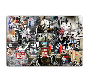 Banksy Collage HD Metal Print