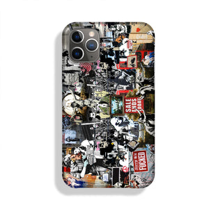 Banksy Collage Phone Case iPhone 11 Pro Max