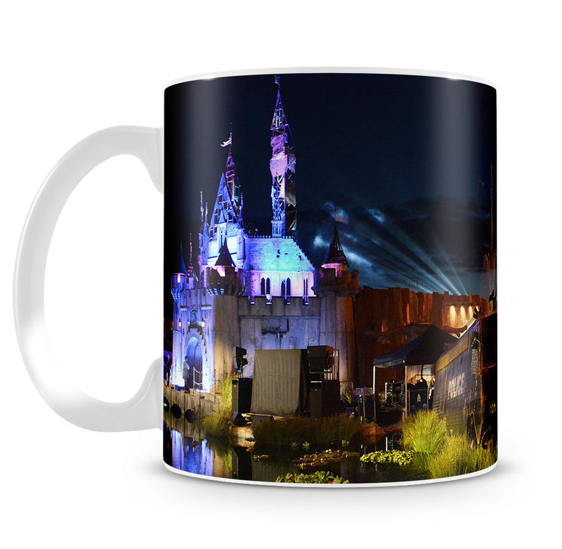 Banksy Dismaland Mug - Canvas Art Rocks