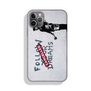Banksy Follow Your Dreams Phone Case iPhone 11 Pro Max