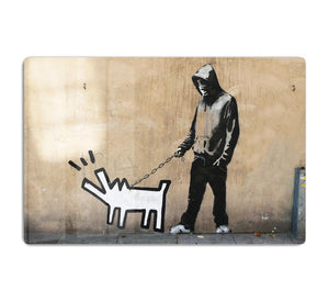 Banksy Keith Haring Dog HD Metal Print