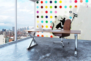 Banksy LSD Damien Hirst Wall Mural Wallpaper - Canvas Art Rocks - 3