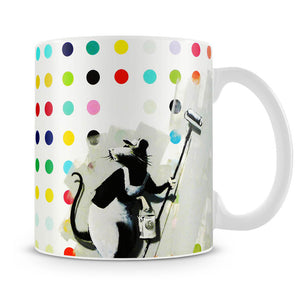 Banksy LSD Damien Hirst Mug - Canvas Art Rocks