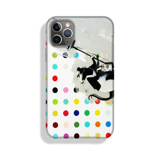 Banksy LSD Damien Hirst Phone Case iPhone 11 Pro Max