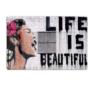 Banksy Life Is Beautiful - Version 2 HD Metal Print