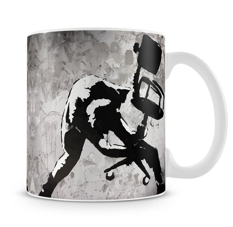 Banksy London Calling Mug - Canvas Art Rocks