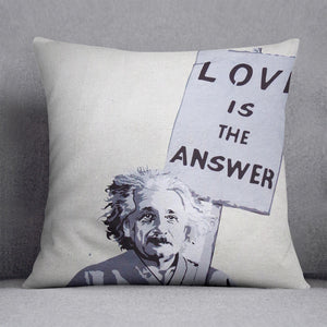Banksy Love Is The Answer Cushion