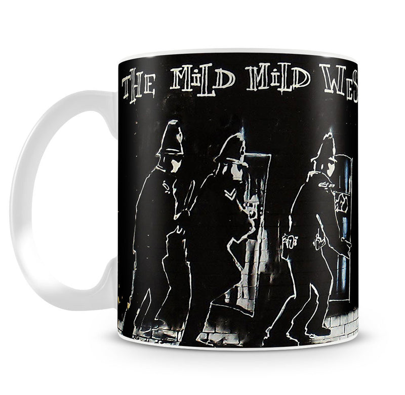 Banksy Mild Mild West Mug - Canvas Art Rocks