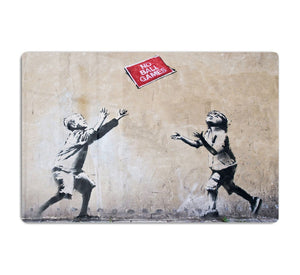 Banksy No Ball Games HD Metal Print