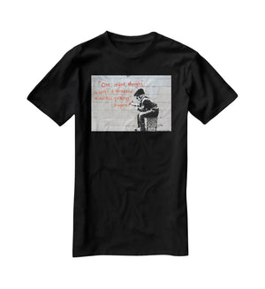 Banksy One Original Thought T-Shirt - Canvas Art Rocks - 1