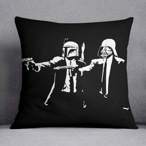 Banksy Pulp Fiction Star Wars Cushion