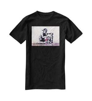 Banksy Slave Labour T-Shirt - Canvas Art Rocks - 1