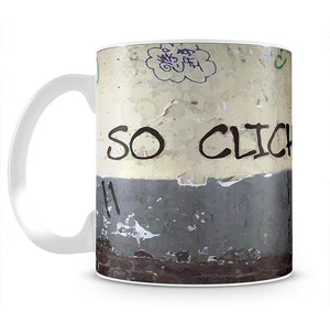Banksy So Cliche Mug - Canvas Art Rocks - 2