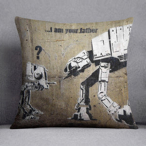 Banksy Star Wars Cushion