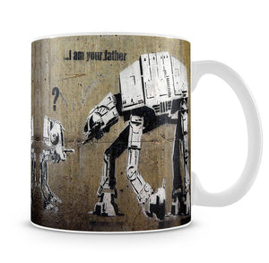 Banksy Star Wars Mug - Canvas Art Rocks