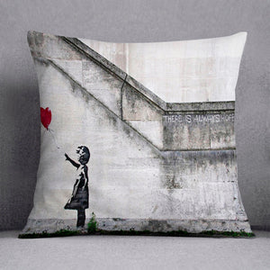 Banksy There is Always Hope Cushion
