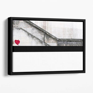Banksy There is Always Hope Floating Framed Canvas