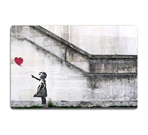 Banksy There is Always Hope HD Metal Print