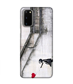 Banksy There is Always Hope Phone Case Samsung S20