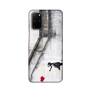 Banksy There is Always Hope Phone Case Samsung S20 Plus