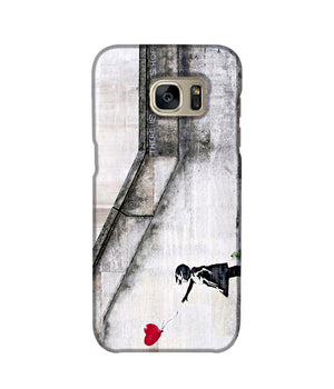 Banksy There is Always Hope Phone Case Samsung S7 Edge