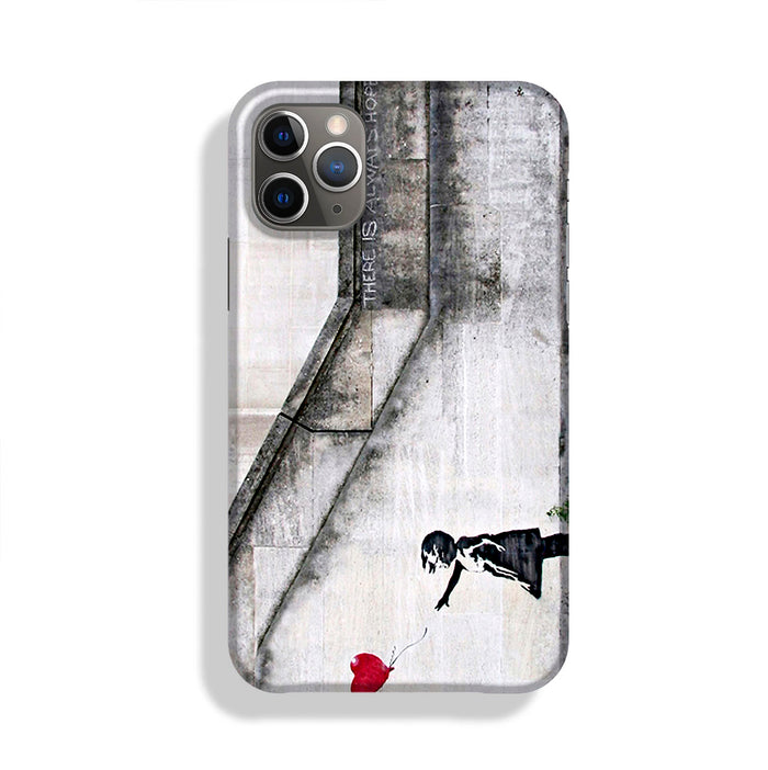 Banksy There is Always Hope Phone Case