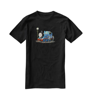 Banksy Thomas the Tank Engine T-Shirt - Canvas Art Rocks - 1