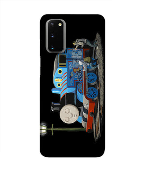 Banksy Thomas the Tank Engine Phone Case Samsung S20